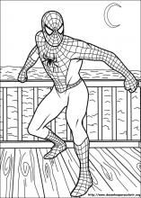 Desenhos do Homem-Aranha para colorir