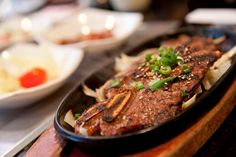 Galbi (grilled ribs) | A Beginner's Guide To Eating At A Korean Restaurant