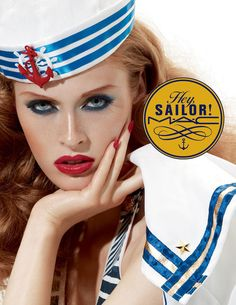 Preview M.A.C Cosmetics' nautical summer colour and bronzer collection 'Hey Sailor' launching in May.