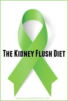 the kidney flush diet