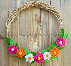 Corona Flores Reto Amistoso #99 | Ortizadas en el Crochet