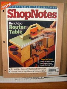 Shopnotes Vol 8 Issue 45 Benchtop Router Table