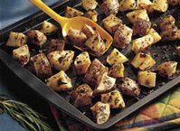 Baked Potatoes on the Grill recipe from Betty Crocker