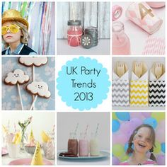 UK Party Trends 2013 - Stylish Childrens Parties Ideas and Inspiration