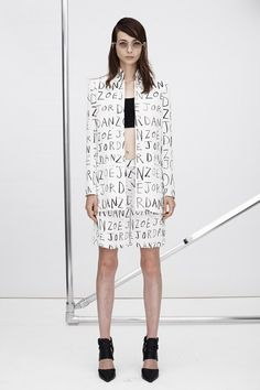 Zoe Jordan  - ready to wear  Spring summer 2015 NYFW