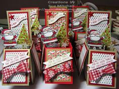 Stampin' Up! Australia - Sue Mitchell: Stampin' Up! Get Your Santa On - card in…