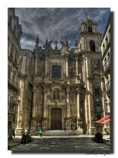 Parroquia de Santa Eufemia ~ Orense, Espana.
