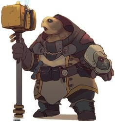 The Tortle are a race of medium sized humanoid tortoise creatures. While they may be slow, they are wise and are not quick to anger. They are known to analyze their foes movements and react accordingly. Humanoid (Reptilian), -2 DEX,+2 CON,+2 WIS, -2 CHA, Medium Size, A tortle's base land speed 20 ft, Tortle have a 10 ft swim speed the Tortle has a+8 racial bonus on any Swim check to perform some special action or avoid a hazard. It can always choose to take 10 on a Swim check, even if...