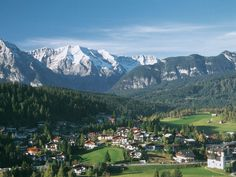 Seefeld, Austria, where we stayed.