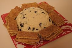 Cream Cheese Chocolate Chip Ball - Amazing Dip for Parties!