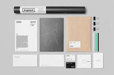 Arquitech on Behance Brand Identity, Branding, Online Portfolio, Behance, Logo, Brand Management, Logos, Identity Branding, Environmental Print