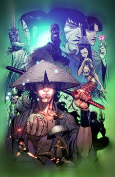 "The movie Ninja Scroll  ""If you so want the company of devils, you better hurry back to hell."""
