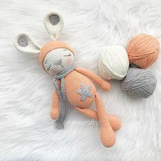 Mesmerizing Crochet an Amigurumi Rabbit Ideas. Lovely Crochet an Amigurumi Rabbit Ideas. Crochet Bunny Pattern, Crochet Amigurumi Free Patterns, Crochet Dolls, Amigurumi Tutorial, Crochet Baby Shoes, Crochet Gifts, Handmade Toys, Crochet Projects, Knitting