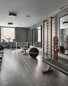 gym room at home luxury ~ gym room ; gym room at home ; gym room at home small spaces ; gym room at home ideas ; gym room at home luxury ; Dream Home Gym, Gym Room At Home, Best Home Gym, Home Gyms, Basement Gym, Garage Gym, Small Garage, Basement Ideas, Rustic Basement
