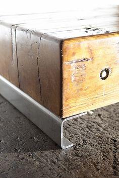 Reclaimed coffee table I made www.urban-now.com