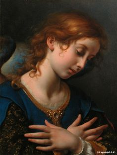 Carlo Dolci. Italian Baroque Era Painter, ( 1616 - 1686 )