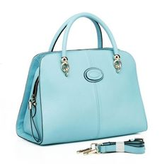#Wholesale Quality Leather Handbags RLLH873 Light Blue