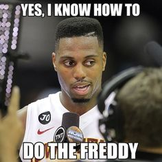 Melvin Ejim can do the Freddy