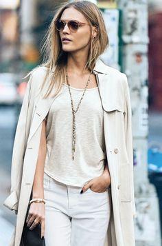 Beaded Gold Zoe Lariat Necklace   Stella & Dot