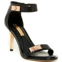 "Bcbgmaxazaria ankle strap heels. size 7 New in box. In perfect new condition. 3,75"" heels. No trade. BCBGMaxAzria Shoes"