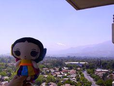 María viajó a Chile y le tomaron esta foto :) #Viaje #Artesanías #México #Diseño #MaríasINC #kawaii #chile
