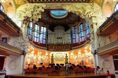 Palau de la Música - Escenari - Barcelona