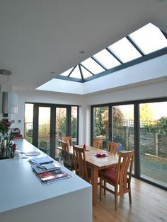 Specialist coatings can be applied to glass during the manufacturing process to reduce heat loss, which is especially useful in larger living spaces with higher volumes of glazing.