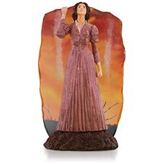 """Gone With the Wind """"As God Is My Witness"""" Scarlett O'Hara Ornament 2015 Hallmark"""
