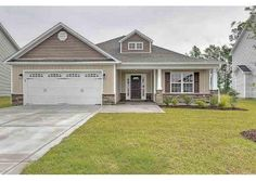 This exterior is quite charming with easy to maintain vinyl siding accented by brick or stone and a covered front porch that is just waiting for your rocking chairs. Location: 127 Cavalier Drive, Jacksonville, NC 28546 Price: $173,500