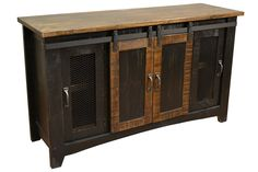 Greenview Kitchen Island  Distressed Black  Products Black And Awesome 60 Inch Kitchen Island Decorating Design