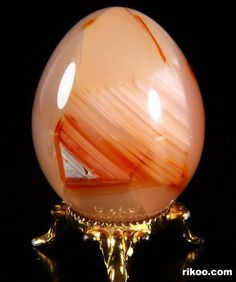 Carnelian Crystal Egg