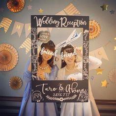 可愛い結婚式写真が撮れるフォトパネルの種類5選 | marry[マリー]