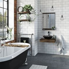 The Bath Co. Dalston countertop shelf with Mackintosh white glass countertop basin, tap and waste Bathroom Styling, Traditional Bathroom, Shelves, Bathroom Mirror With Shelf, Countertop Basin, Mirror With Shelf, Glass Countertops, Countertops, Bathroom