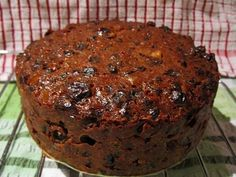 Christmas Rum Cake Newfoundland Recipe. Cookbook of Traditional Newfoundland Meals by Newfoundland.ws