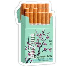 Arizona Tea Cigarettes Stickers