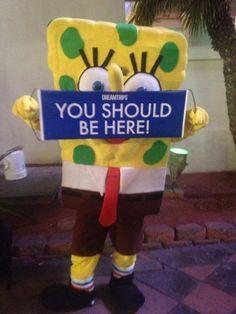 Spongebob Squarepants #dreamtrips #ysbh #famous #nickelodeon