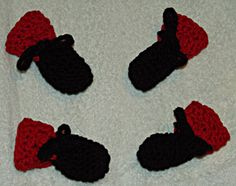 Crochet Dog Booties Pattern