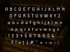 Hard Edge Font Letters #freefonts #fontsfordesigners #bestfonts2014 #graphicdesign #typefaces #commercialfonts