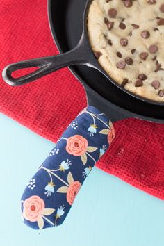 Hey everyone! Today we've got Katie from Made to be a Momma here and she's got a tutorial for a cast iron skillet handle cover. Which is SUCH a fun idea! And even better, have you ever eaten a skillet cookie (sometimes also called a Cazookie or Pizookie)? They are my Favorite. Dessert. Ever! Seriously!...Read More »