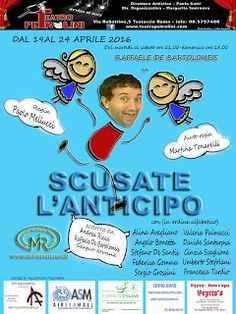 Claudia Grohovaz: Raffaele De Bartolomeis in SCUSATE L'ANTICIPO