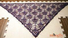 Berry Harvest Bandana Cowl free #crochet pattern on Moogly