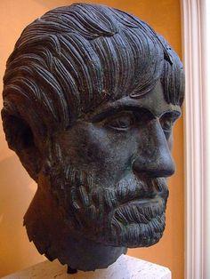 Bearded Man Roman Gallienic mid-3rd century CE Bronze