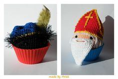 Sint and Piet Cute Toys, December, Knitting, Crochet, Christmas, Fun, Holidays, Baby, Products