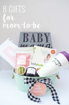 Your bestie just announced she's expecting and you're ecstatic! You  immediately start trying to think of a way to celebrate. It's never too  early to start spoiling her--and let's face it, the first trimester can be  less than glamorous.  Today I'm sharing some of my favorite go-to gifts for  the momma-to-be's in your life. A few funny, a few practical, and a few  just plain awesome gifts to celebrate this exciting time!  BellyBuds | WavHello $49.99  If you're looking for a gift that your…