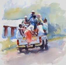 Resultado de imagen de hazel soan paintings sea