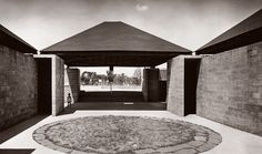 Trenton Bath House. New Jersey. 1955. Louis Kahn