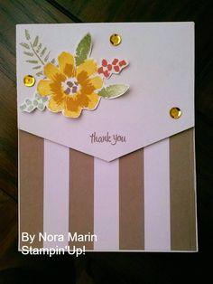 2016 JUNE paper pumpkin Kit Alternate Card Created by Nora Marin