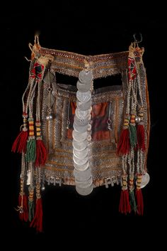 "Bedouin Wedding Veil (Mask) Saudi Old and autentic Bedouin veil from Saudi The tribe this veil belongs to is ""Harb tribe "" located south-west of Najd region."