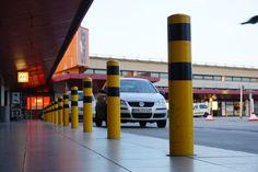 Taxistelle am Tegler-Flughafen.