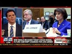 New Emails Released Today Could Signal Future Contempt Charges For Lois Lerner - America's News HQ